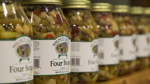 Walnut Creek Four Bean Salsa on Shelf